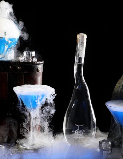 Glass of Dry Ice