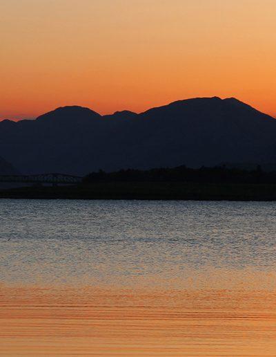 Golden Sunset on Loch Leven