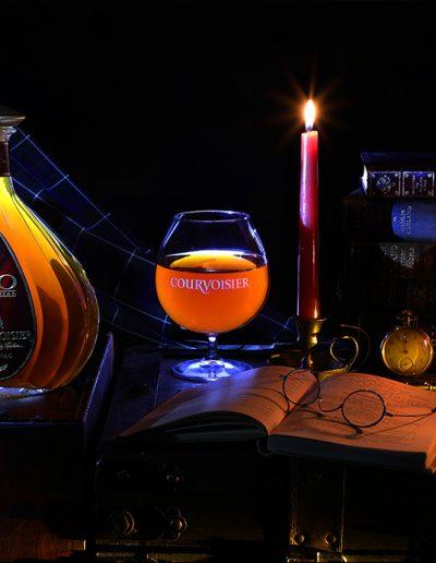 Large Glass of Courvoisier XO